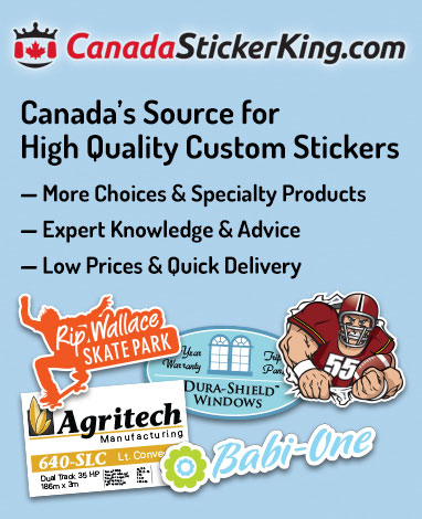 Types of Custom Stickers & Decals