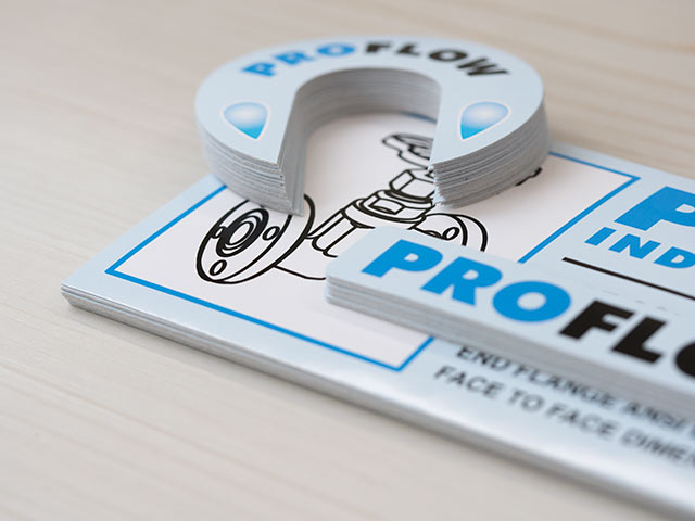 Pro Flow Cast Vinyl Decals, Printed in Canada by CanadaStickerKing.com