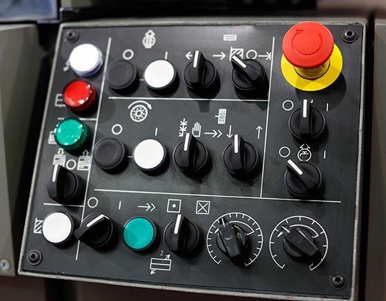 Machine Control Panel Printing - Canada