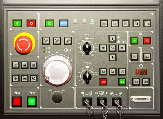 Control Panel, Lexan