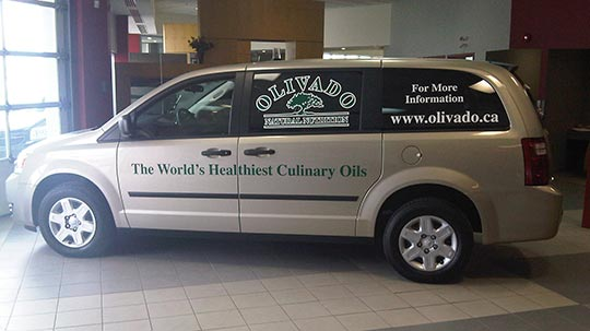 Vehicle Graphics printed by CanadaStickerKing