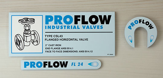 Pro Flow - Decals for Equipment Manufacturers. Made in Canada
