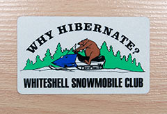 Snowmobile Club - Reflective Markings
