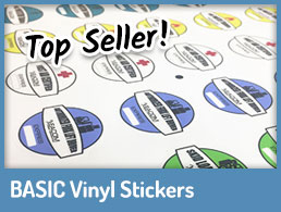 Basic Vinyl Stickers - Link
