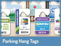 Parking Hang Tags Link
