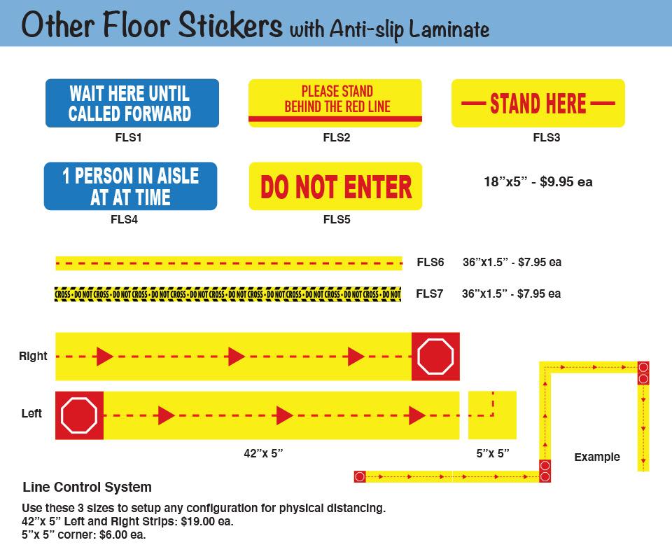 Other Floor Stickers